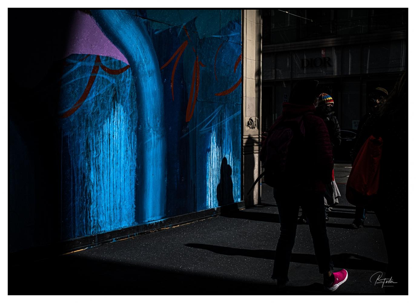 Pink Shoe in Amazing Light ©2021 Reginald Foster