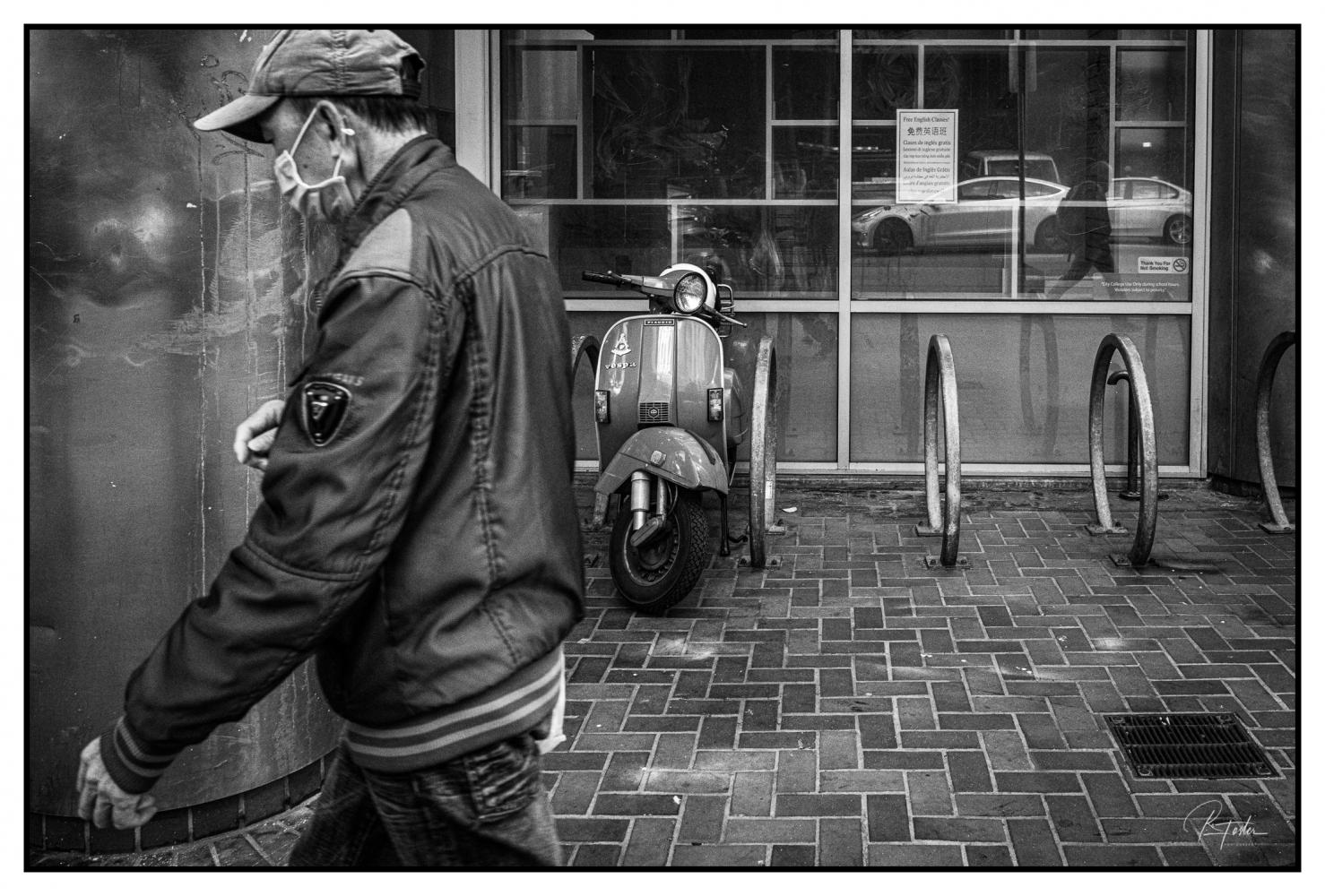 One Scooter, ©2021 Reginald Foster