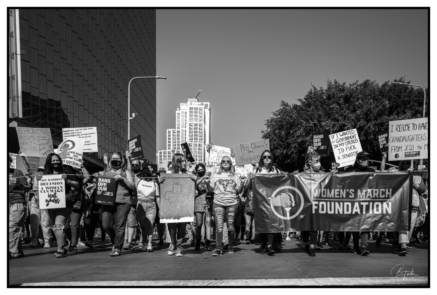 Women's Reproductive Rights March, DTLA