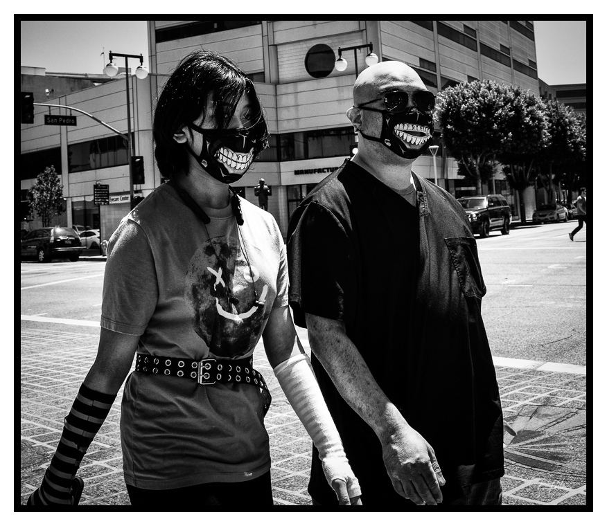 Smiley Masks, ©2021 Reginald Foster